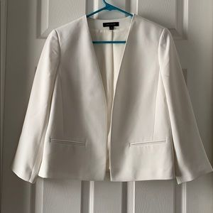 Beautiful white jacket from Ann Taylor